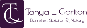 Tanya L. Carlton, Barrister & Solicitor